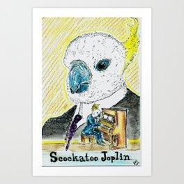 Scockatoo Joplin Art Print