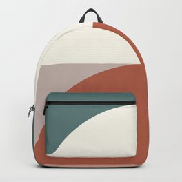 Abstract Geometric 01D Backpack