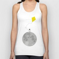 gravity Tank Tops featuring Gravity by coalotte