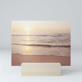 "Ocean Photography, Sea Beach Photograph, Waves Coastal Photo, ""A New Beginning"" Mini Art Print"