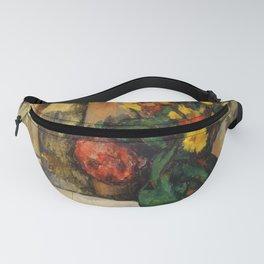 """Paul Cezanne """"Fleurs et pommes (Flowers and fruits)"""" Fanny Pack"""