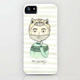 Mr. Cat Boy iPhone Case
