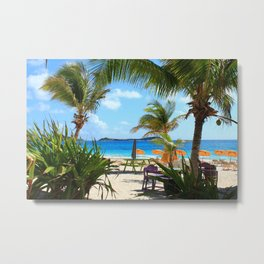 My Breakfast Spot Metal Print