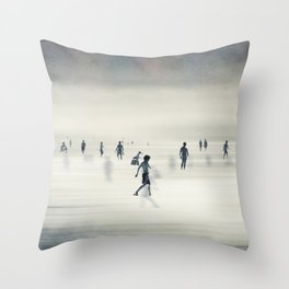 floating on light Throw Pillow
