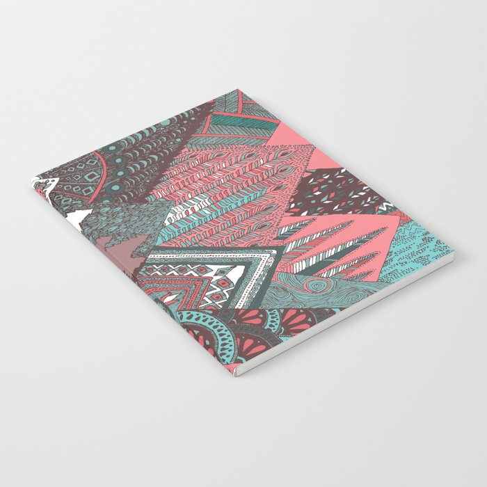 Red mountains Notebook