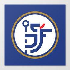 CFC Blues Type Logo Canvas Print