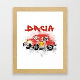 dacia 1300 Framed Art Print