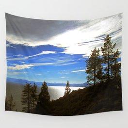 Shadowy North Lake Tahoe Wall Tapestry
