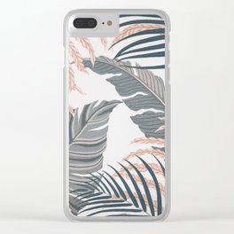 LEAVES4 Clear iPhone Case