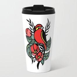 Red Bird Travel Mug