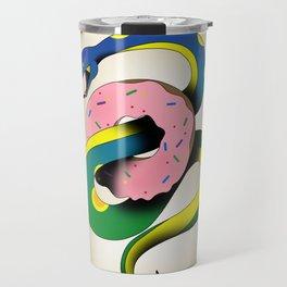 Donut Snake Travel Mug