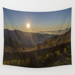 Sunrise on the Blue Ridge  Wall Tapestry