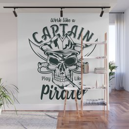 Play like a Pirate Wall Mural