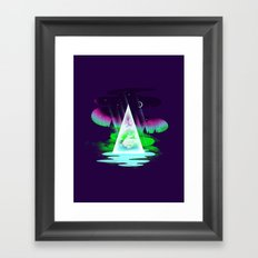 Northern Air Framed Art Print
