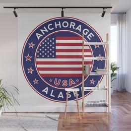 Anchorage, Alaska Wall Mural