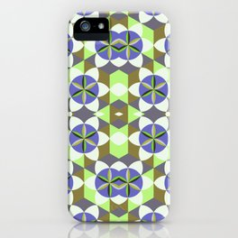 FLOWER OF LIFE GEOMETRIC PATTERN iPhone Case