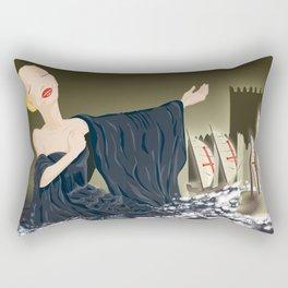 Ó gente da minha terra Rectangular Pillow