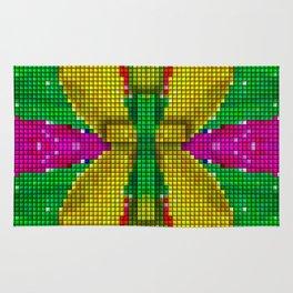 Cross Art - (God is always Colorful) Rug