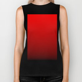 Red Devil Hell and Black Deadly Ombre Nightshade Biker Tank