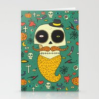 halloween Stationery Cards featuring Halloween by Ariadna