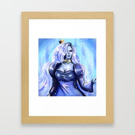 Ice Queen Framed Art Print