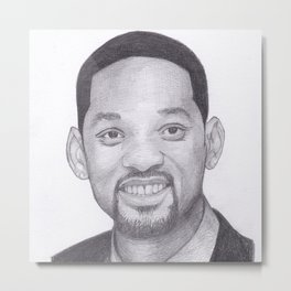 Will Smith - Fresh Prince Metal Print