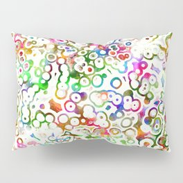 Abstract Microbes Pillow Sham