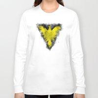 x men Long Sleeve T-shirts featuring Phoenix - X-Men by Trey Crim