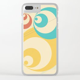 tripping mickeyy Clear iPhone Case