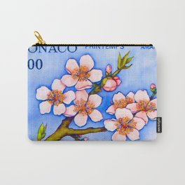 Branch of an almond tree in Spring Carry-All Pouch