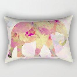 Abstract Elephant II Rectangular Pillow