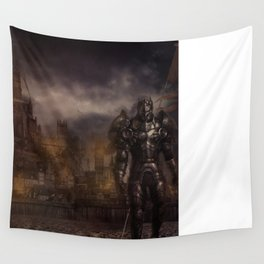 THE SIEGE Wall Tapestry