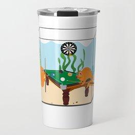 Goldfish Pool Travel Mug