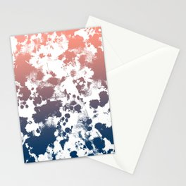 Ombre fade tie dye pastel trendy color way throwback retro palette 80s 90s style Stationery Cards