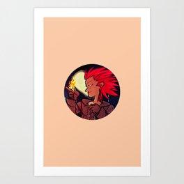 Number VIII Art Print