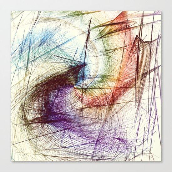 Weave IV Canvas Print