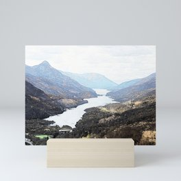 Overlooking Kinlochleven , Scottish Highlands Mini Art Print