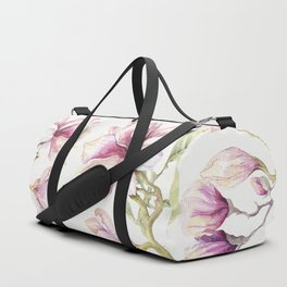 Delicate Magnolia 2 Duffle Bag