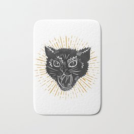 kitty attack Bath Mat
