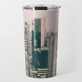 New York architecture 4 Travel Mug