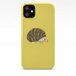 Adorable wild animal hedgehog iPhone Case