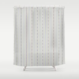 Industry Stripe Shower Curtain