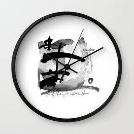 Tao Of Healing No. 29I by Kathy Morton Stanion Wall Clock