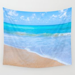 Bright Beach Wall Tapestry
