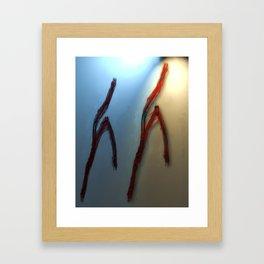 pas de deux Framed Art Print