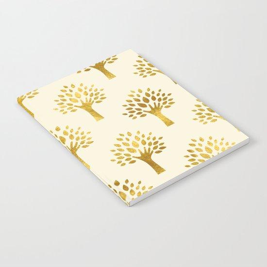 Cream Gold Foil 02 Notebook