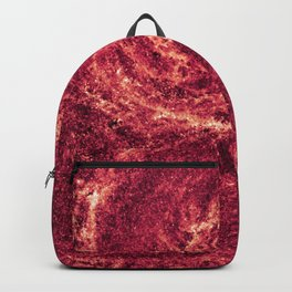 Whirlpool Galaxy in Infrared Backpack