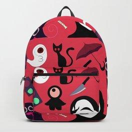 Yume Nikki Pattern Backpack