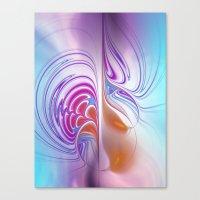 fractal design -122- Canvas Print