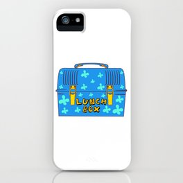 Food Package Meal Cook Cuisine Dish Apparel Title: Lunch Lady Lunch Box Squad Bento Box Design iPhone Case